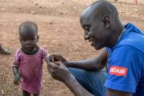 Medair UK providing treatment for malnourished children