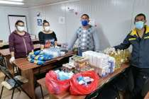 TEN partners in Bulgaria helping to provide food parcels and hygiene packs