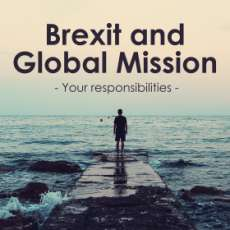 Brexit and Global Mission: your responsibilities
