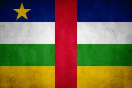 Central African Republic flag