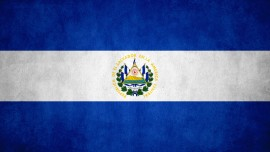 El Salvadorian flag