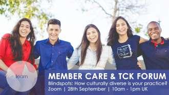 Member Care & TCK Forum - Cultural Blind Spots Event Banner