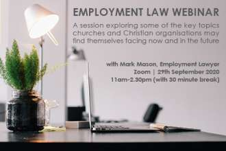 Employment Law webinar September 29th 2020