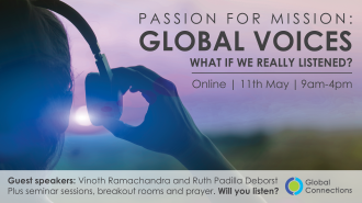Passion for Mission 2021: Global Voices - What if we really listened? 11/03/21