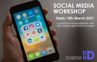 Social Media Workshop - 2 week course