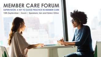 Member Care Forum, 15th September, Zoom