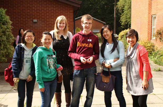 Work with international students in the UK