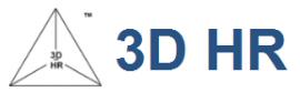 3D HR logo