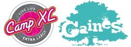 Camp XL & Gaines logo